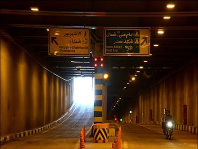 Amirkabir Tunnel and Underpass